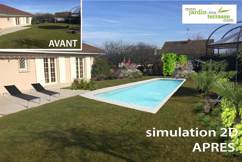 Créer Son Jardin Virtuel Gratuit | Monjardin-Materrasse tout Logiciel Maison Jardin Et Terrasse 3D Gratuit