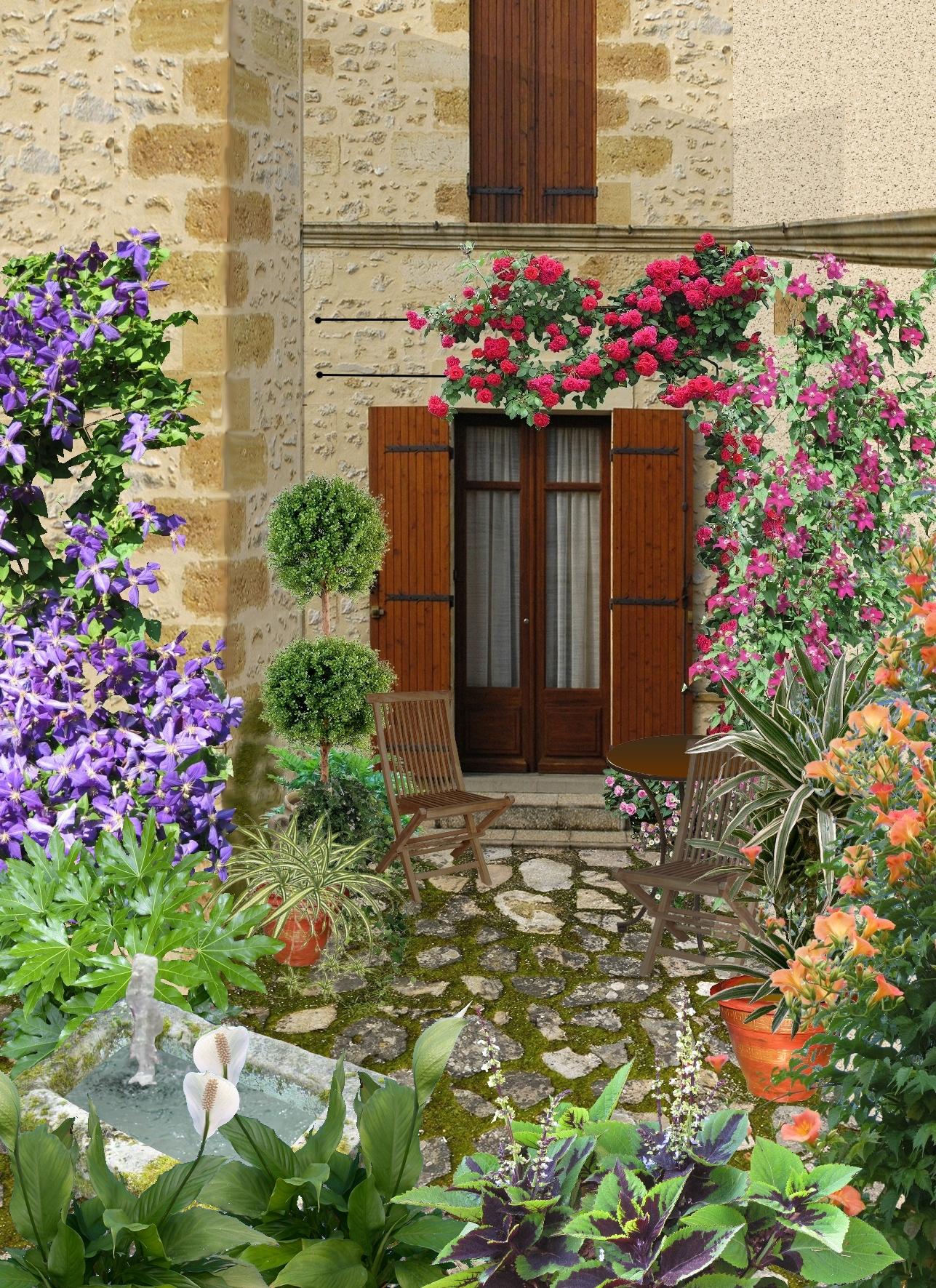 Créer Un Très Petit Jardin De 20 M2 encequiconcerne Aménager Un Petit Jardin De 20M2