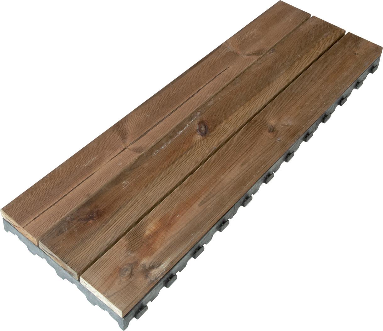 Dalle X-Tiles Pin Brun Autoclave L39 X L7,3 X H118 Cm tout Planche Xtiles