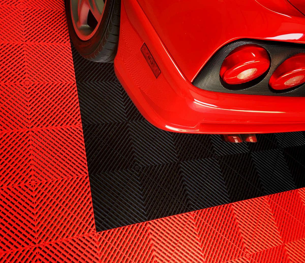 Dalles De Sol Garage, Atelier, Showroom, Magasin - Auto ... avec Prix Dalles Izifloor