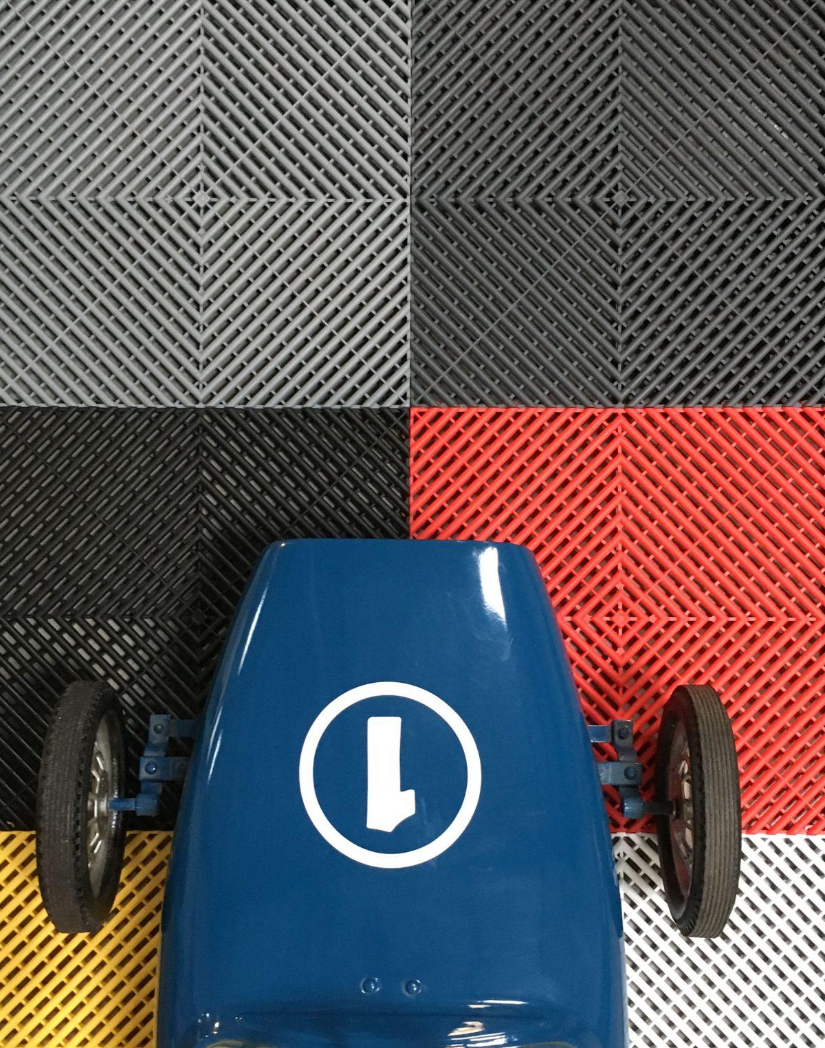 Dalles De Sol Pour Votre Garage Ou Votre Atelier, Le ... encequiconcerne Prix Dalles Izifloor