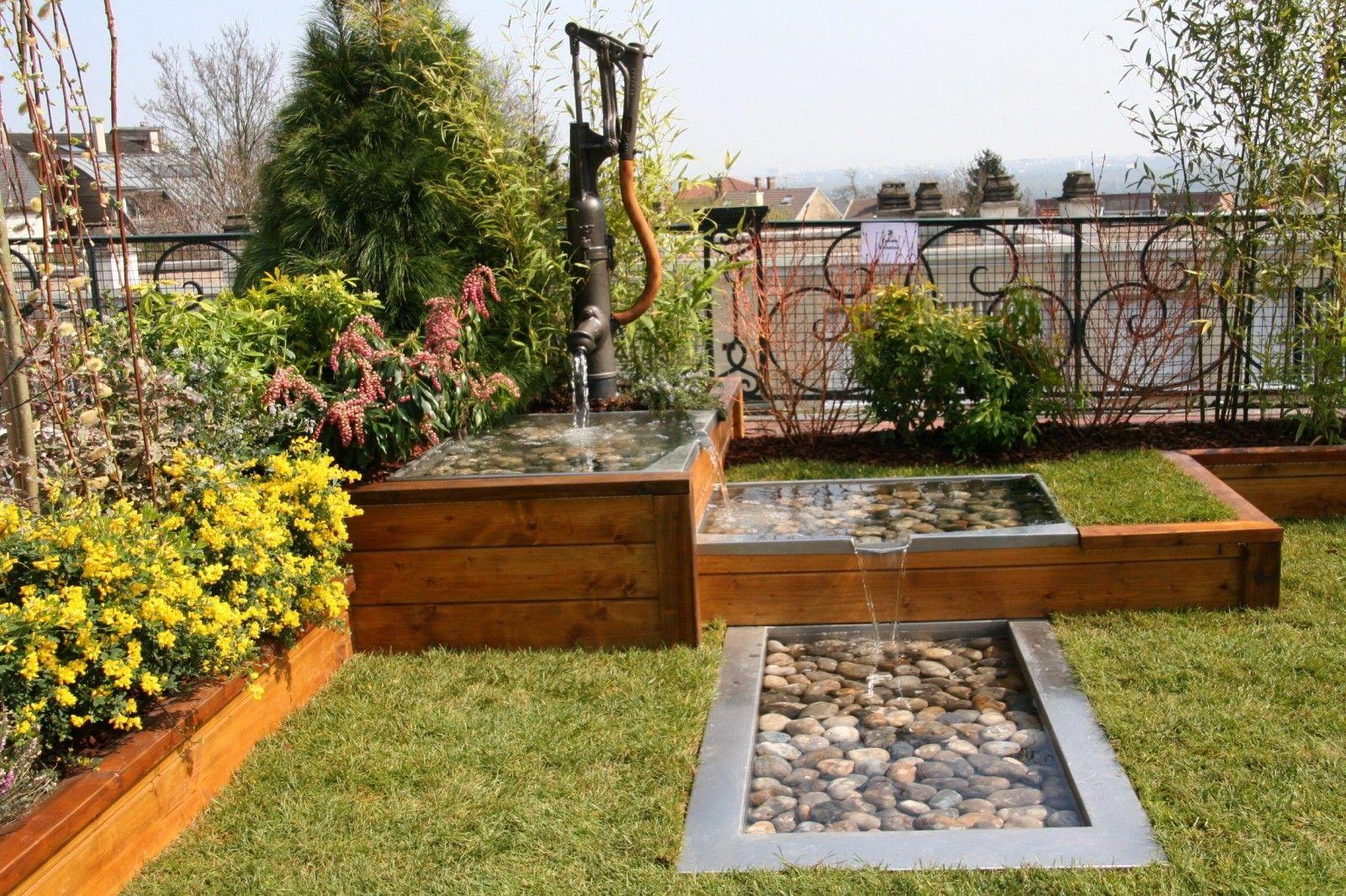 Deco Jardin Bois Exterieur | Garden Pictures, Exterior ... intérieur Deco Jardin Exterieur