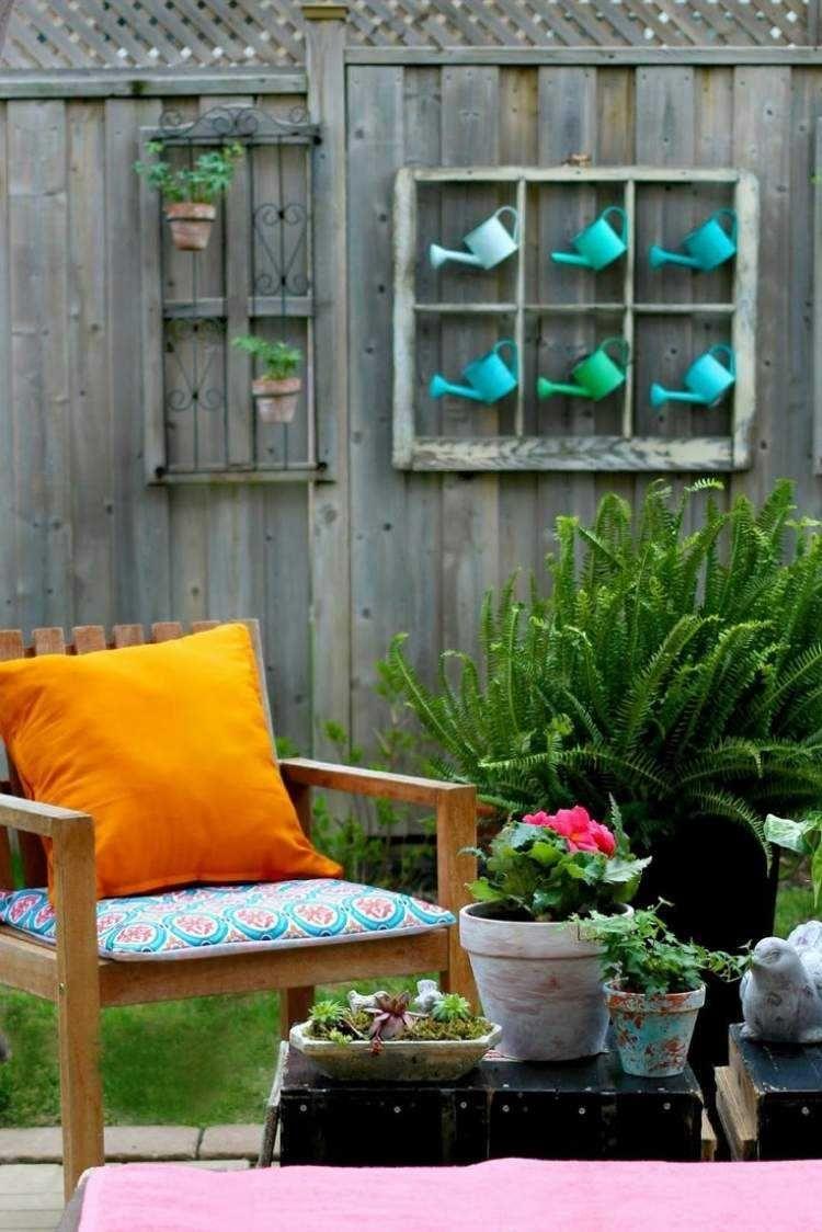 Déco Jardin Diy: Idées Originales Et Faciles Avec Objet De ... encequiconcerne Idee Deco Jardin