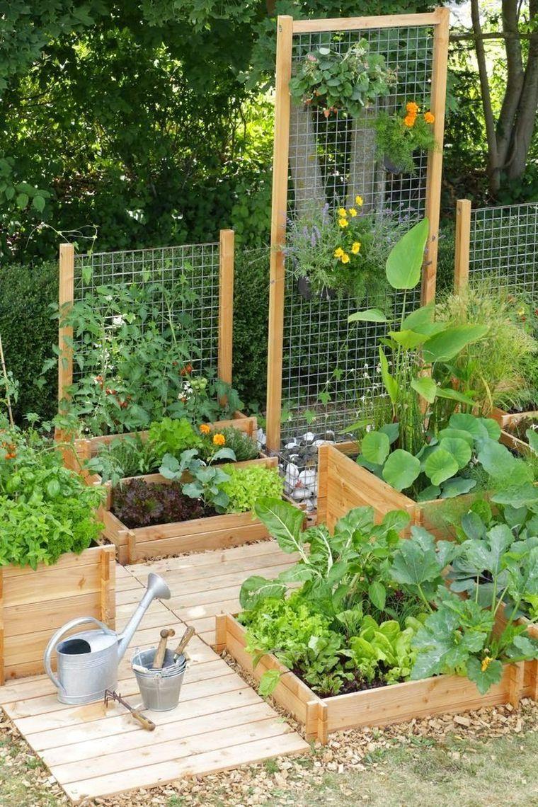 Déco Jardin Potager Pinterest Et Aménagement Extérieur Diy ... intérieur Deco Jardin Exterieur