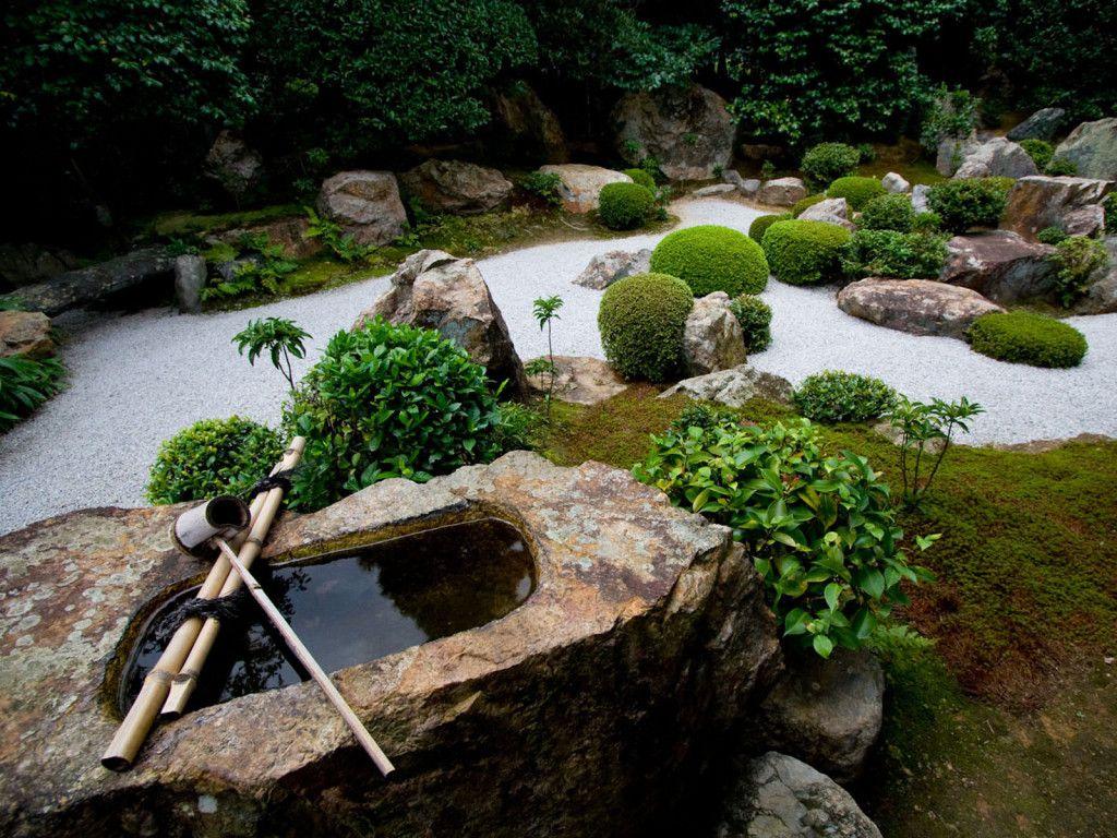 Décoration Jardin Zen (Mit Bildern) | Japanischer Garten ... dedans Idee Jardin Zen