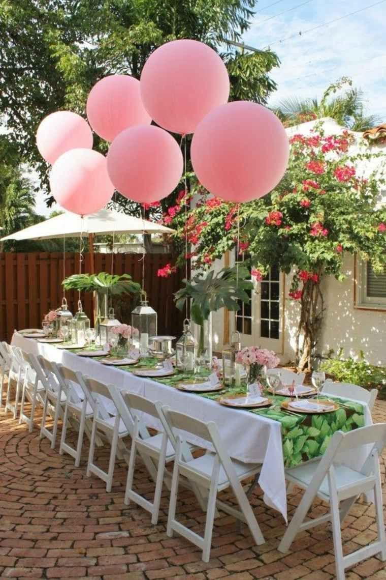Décoration Table Anniversaire : 50 Propositions Pour L'été ... dedans Decoration Exterieur