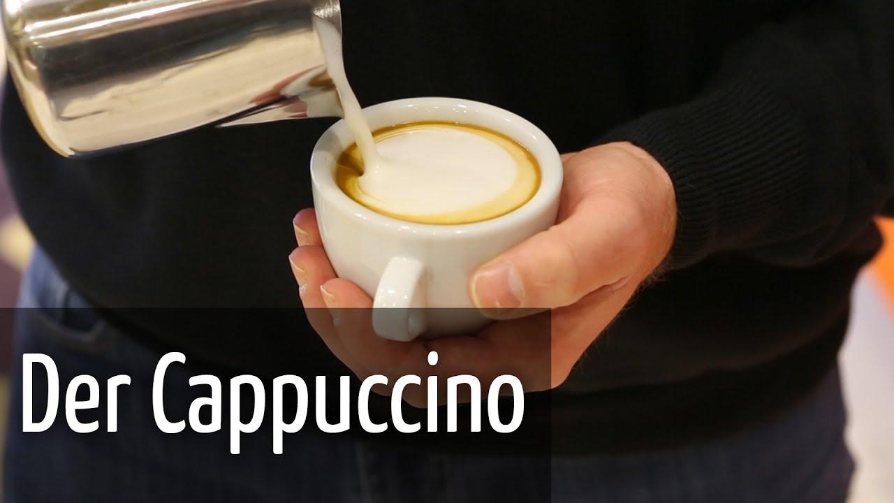 """Die Zubereitung Des Perfekten Cappuccino - Beans ... avec Cappuccino"""""""