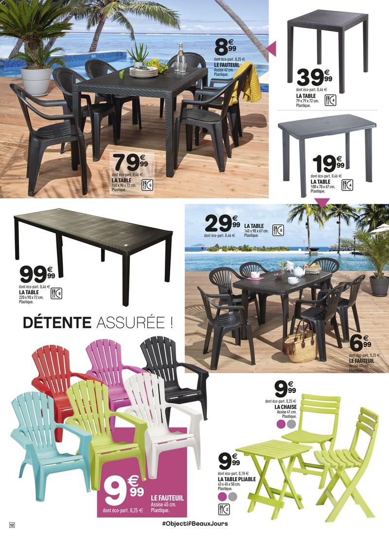 Direction Le Jardin Et La Terrasse ! | Centrakor Vannes ... concernant Centrakor Tables De Jardin