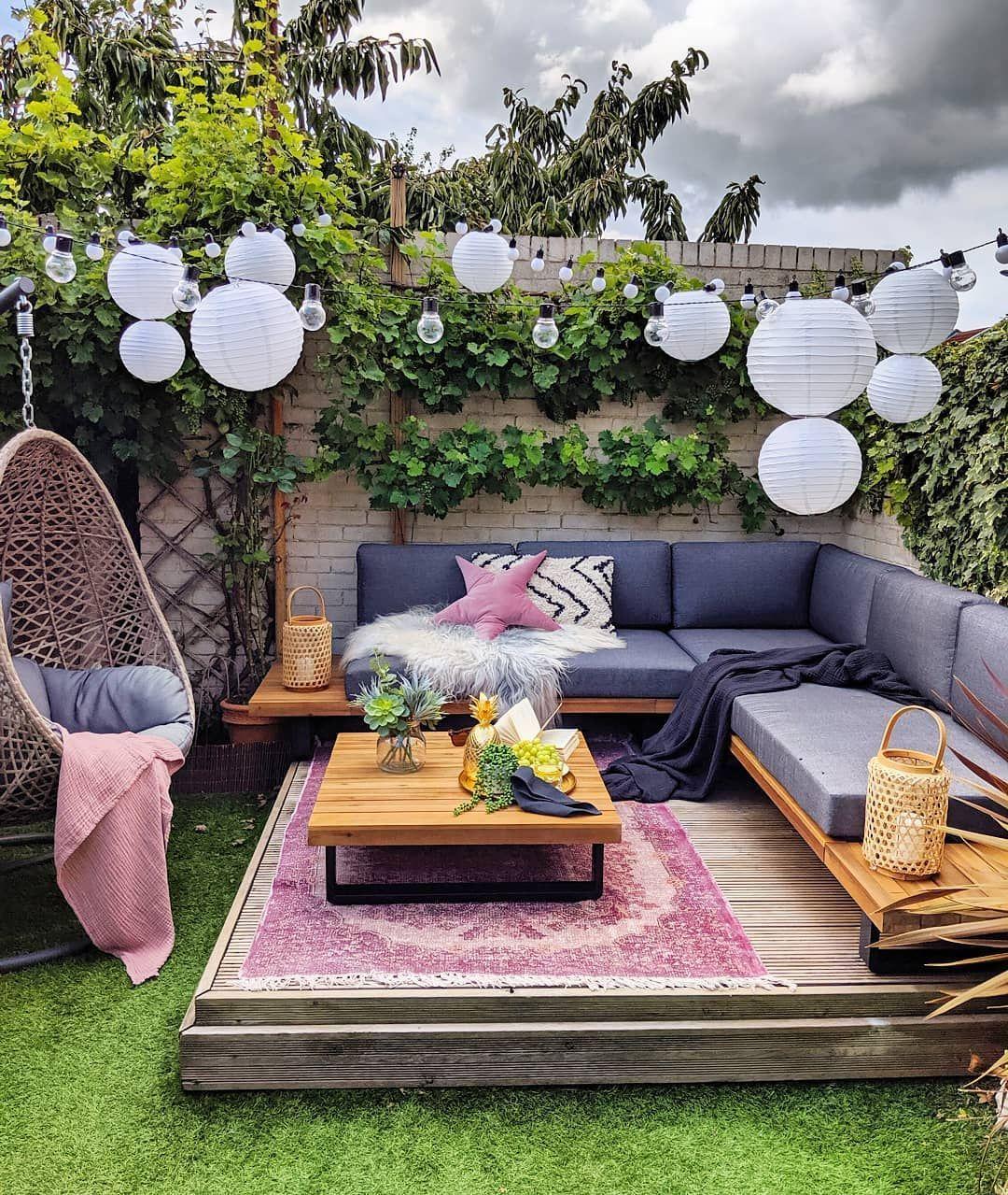Épinglé Sur Balkons ,terrasse , Veranda Und Garten pour Decoration Exterieur