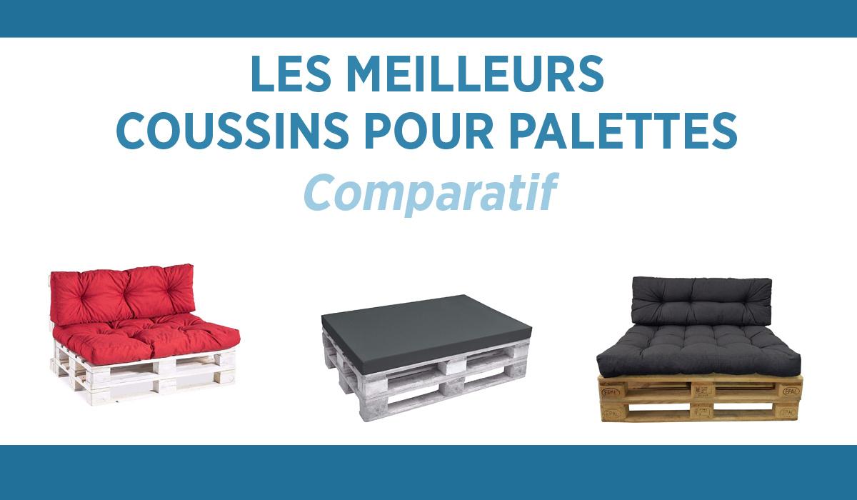 🥇 Quel Coussin Pour Palette Choisir Pour Un Extérieur ... serapportantà Coussins Exterieur Pour Palette
