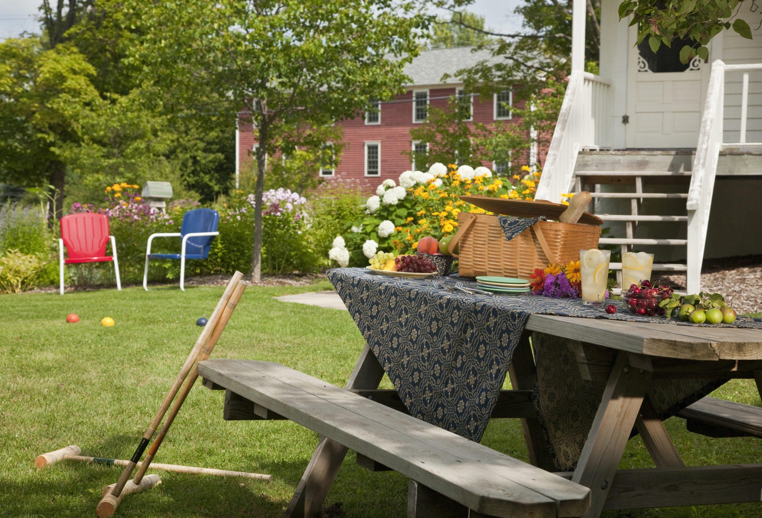 Fabriquer Soi-Même Sa Table De Jardin serapportantà Fabriquer Une Table De Jardin En Bois