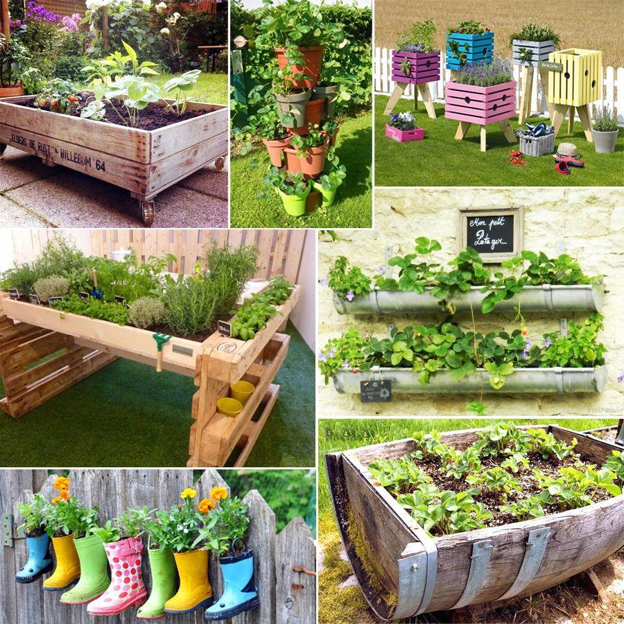 Fabriquer Un Potager Surélevé Et Cultiver Hors-Sol concernant Créer Des Bacs De Jardin Avec Des Palettes