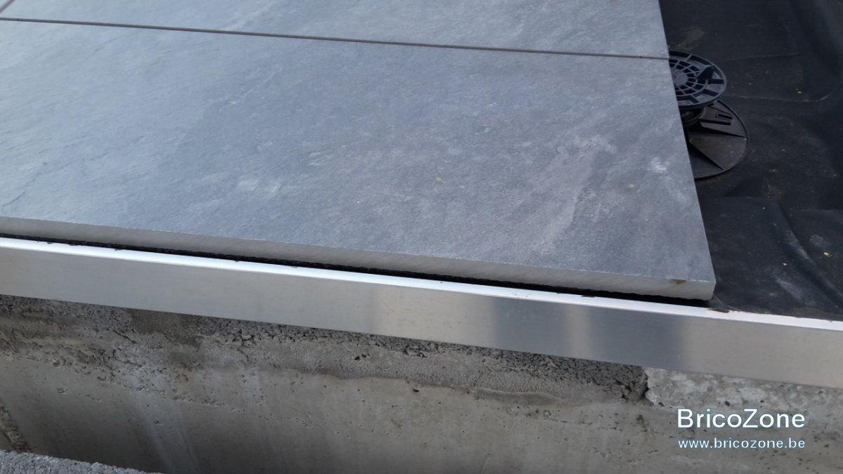 Finition Bordure Terrasse Dalle Sur Plot - Idees Conception Jardin   Idees Conception Jardin