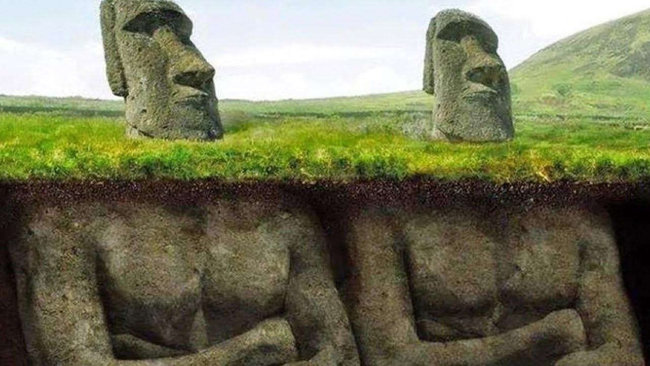 Forscher Haben Endlich Die Ganze Wahrheit Über Die Osterinsel Herausgefunden dedans Statue Moaï 1M
