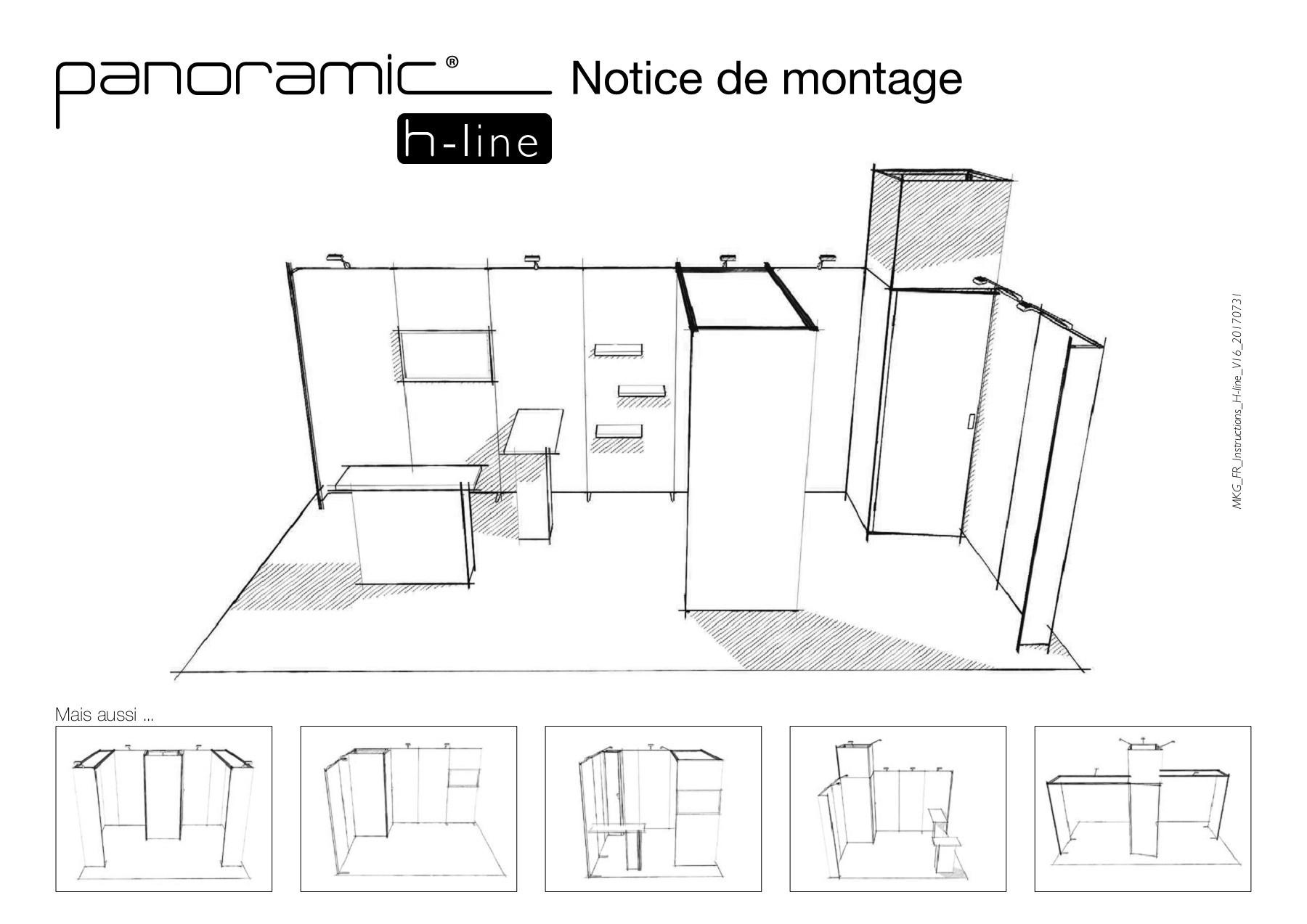 H-Line Notice De Montage à Notice Montage