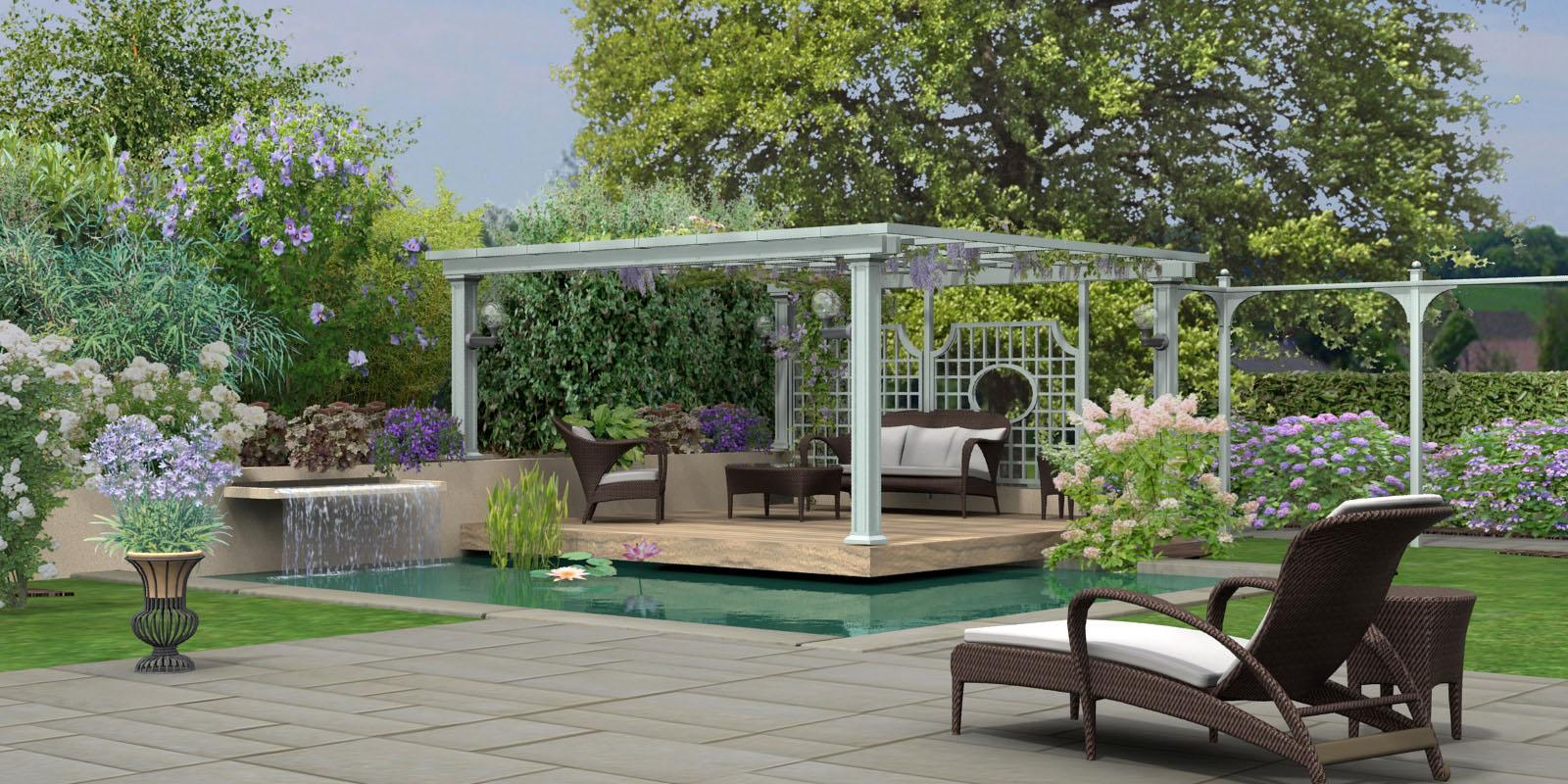 Hortus3D Création De Plans De Jardin 3D En Réalité Virtuelle concernant Plan De Jardin 3D