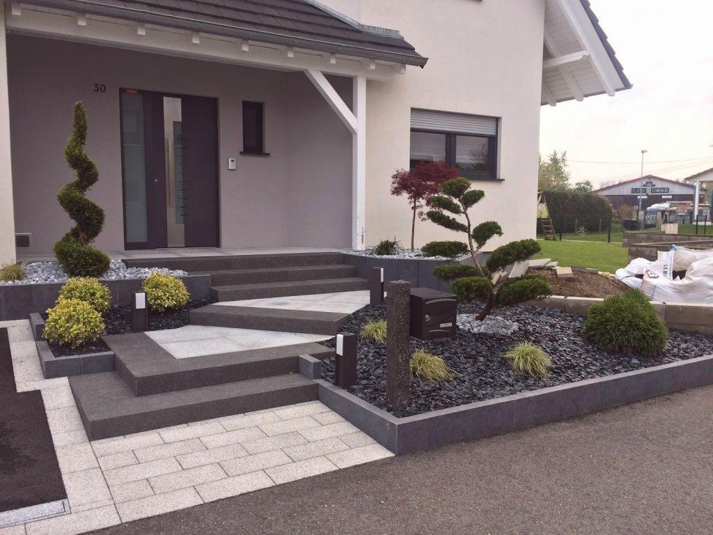 Idées De Design Plan Amenagement Exterieur Maison ... avec Jardin Devant Maison