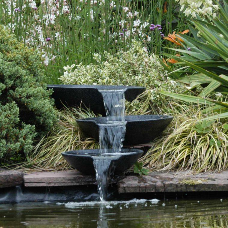 idées déco fontaines et bassins dans le jardin  cocon