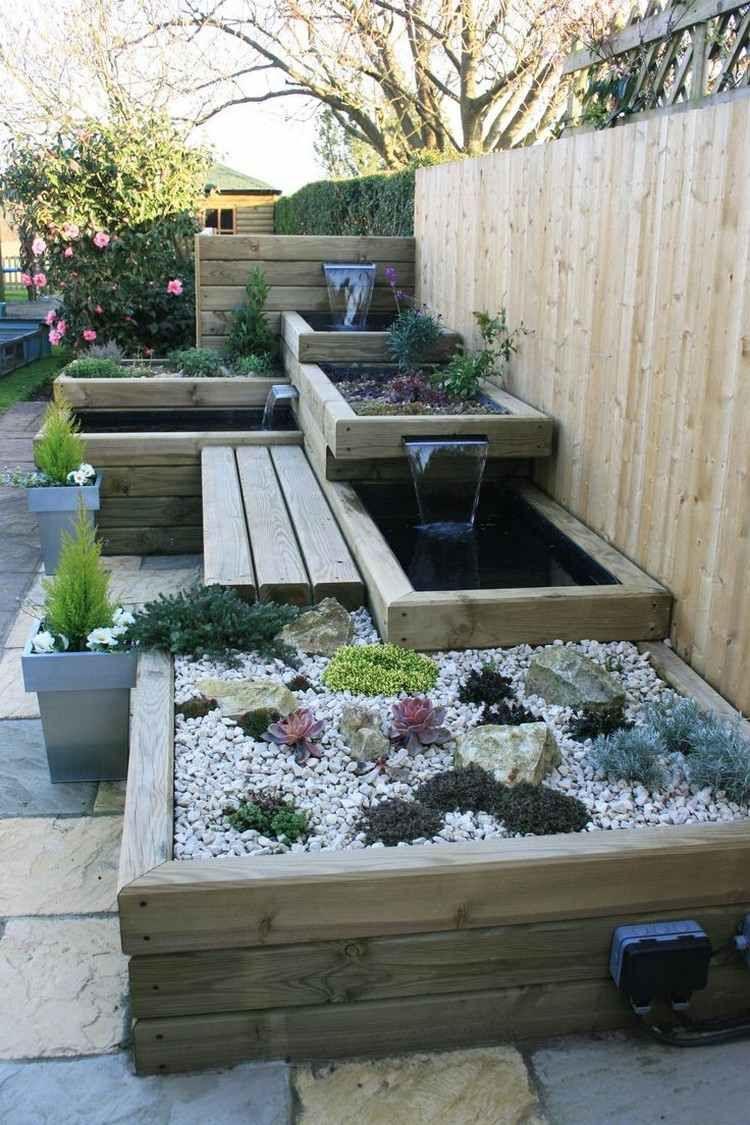 Idées Jardins Modernes - Top 20 Des Tendances Récupérées Sur ... à Deco Jardin Moderne