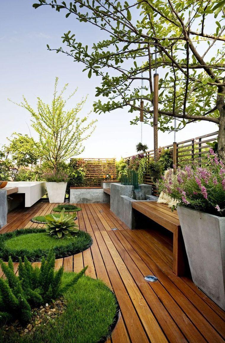 Inspirations Pinterest Déco Jardin Et Terrasse - Voici Notre ... destiné Deco Jardin Moderne