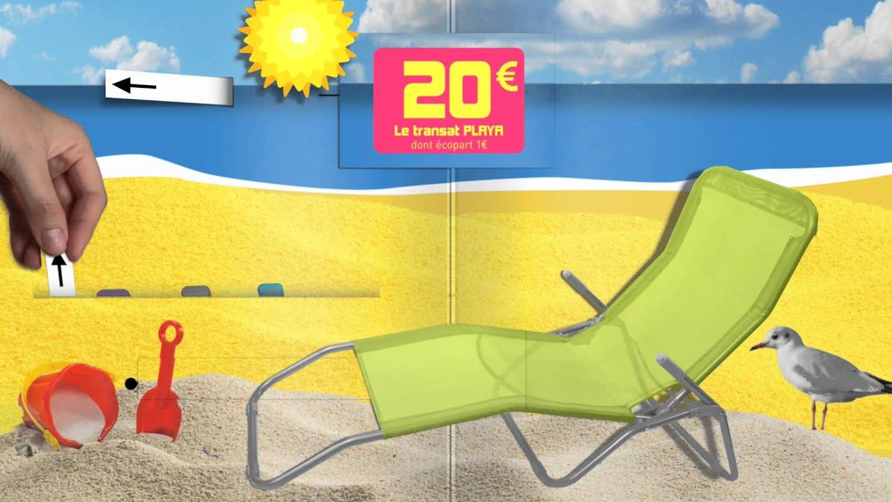 Jardin - Spot Tv Gifi - Avril 2014 avec Transat Gifi Playa