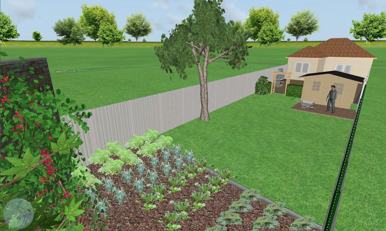 Je Réalise Vos Plan De Jardin En 2D Et 3D - Jardins Du Nord ... tout Plan De Jardin 3D