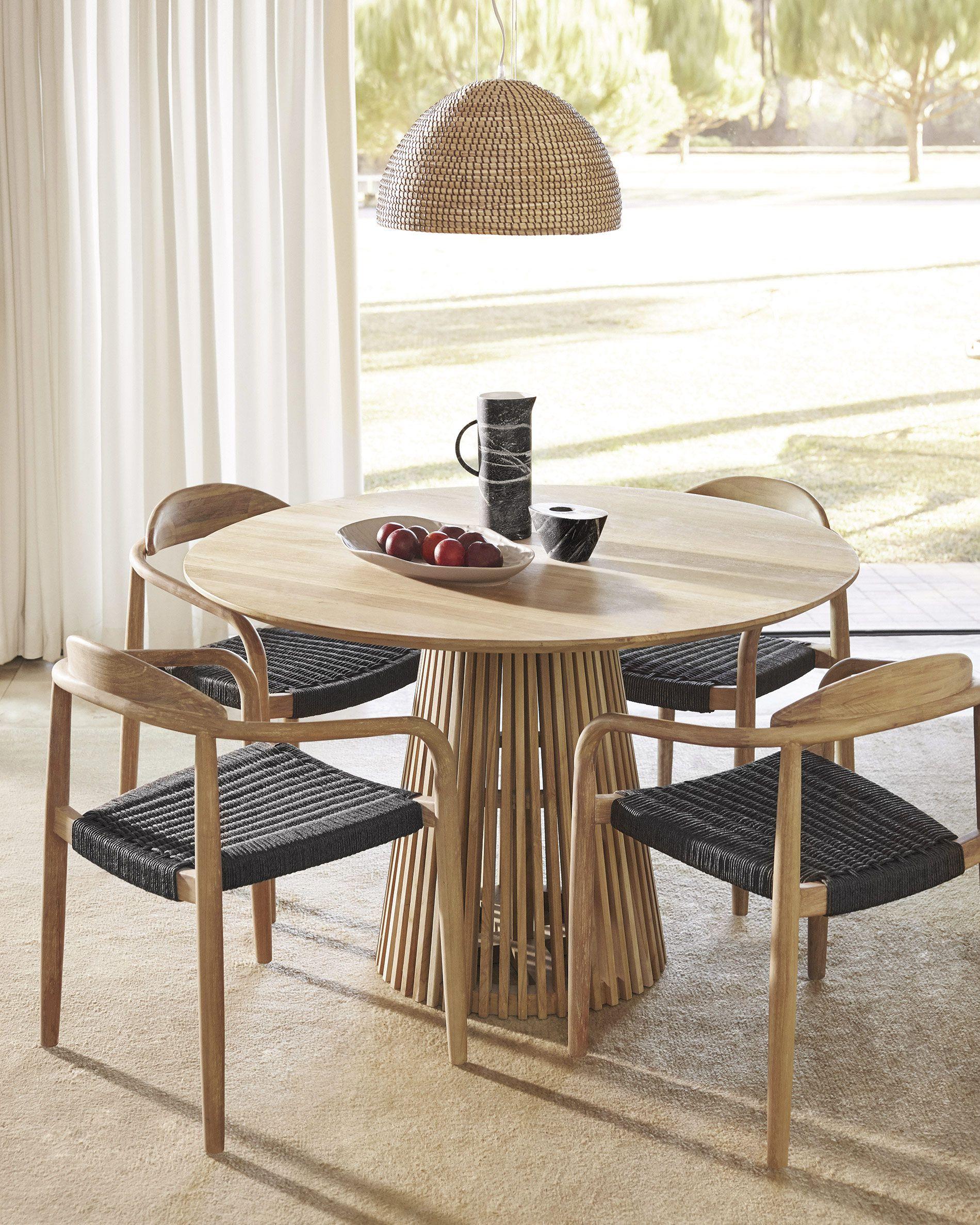 Jeanette Table Ø 120 Cm | Kave Home® destiné Kave Home