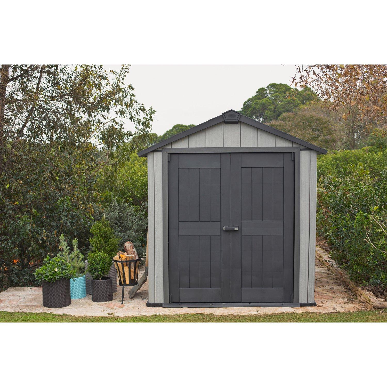 Keter Kunststoff-Gartenhaus Oakland 757 B X T: 210 Cm X 216 Cm dedans Abri De Jardin Keter Oakland 1175