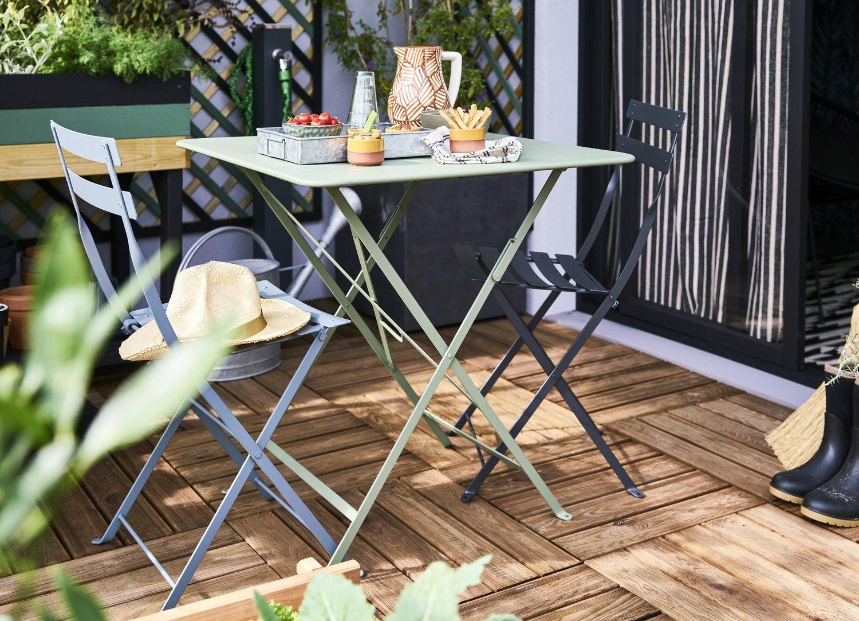 La Nouvelle Collection De Salon De Jardin 2020 | Leroy Merlin tout Petit Salon De Jardin Pour Balcon