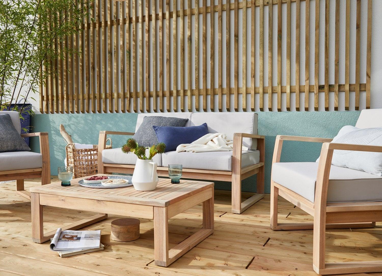 La Nouvelle Collection De Salon De Jardin 2020 | Leroy Merlin tout Salon De Jardin Teck Déstockage