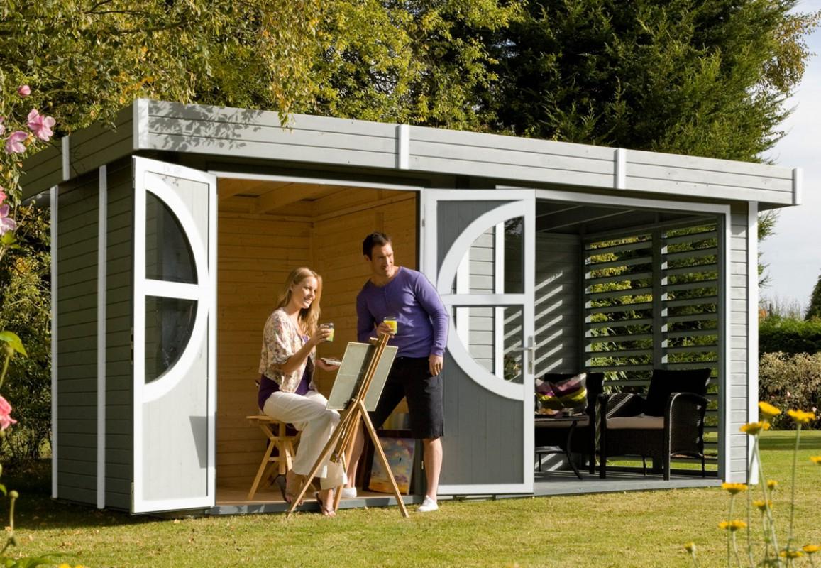 L'abri Design Et Moderne Pour Une Harmonie Naturelle – Blog ... destiné Abri De Jardin En Bois Namur