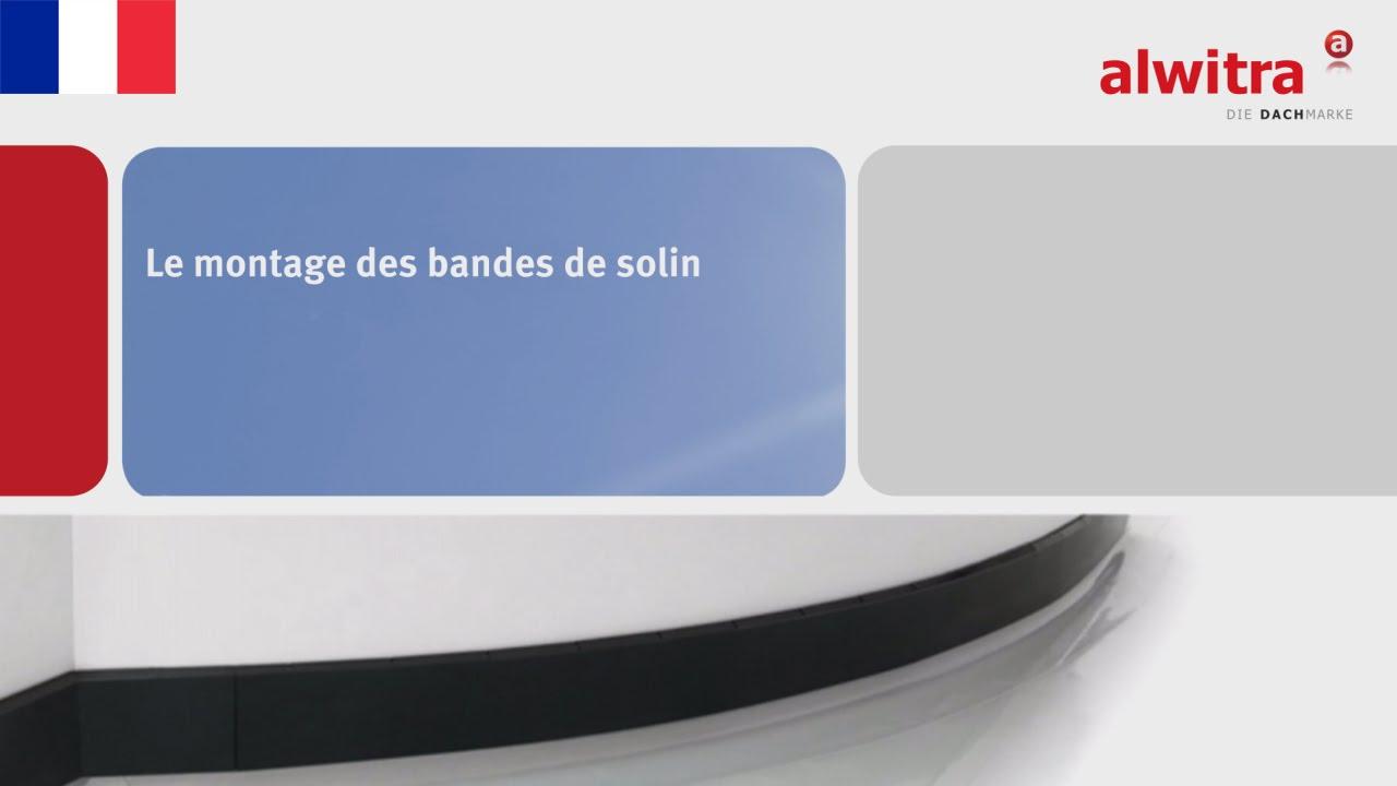 Le Montage Des Bandes De Solin concernant Wakaflex Brico Dépôt