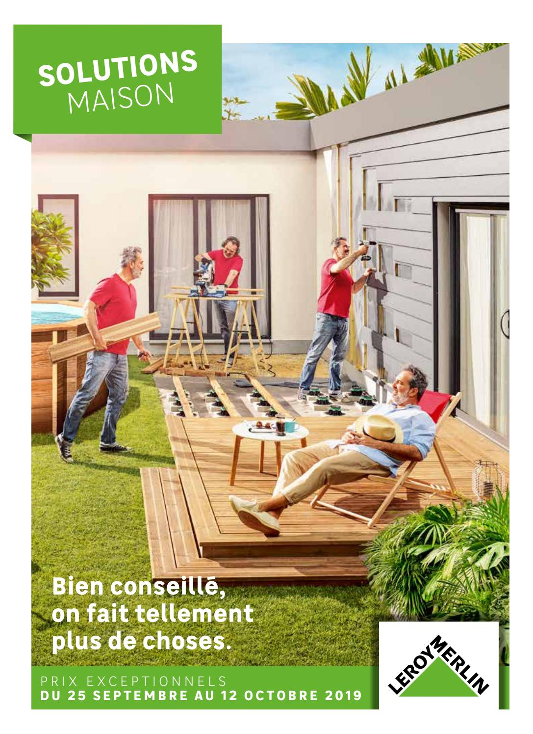 Leroy Merlin : Solutions Maison By Agencecourtcircuit - Issuu pour Saturateur Luxens Protection Terrasse Bois 5L Naturel