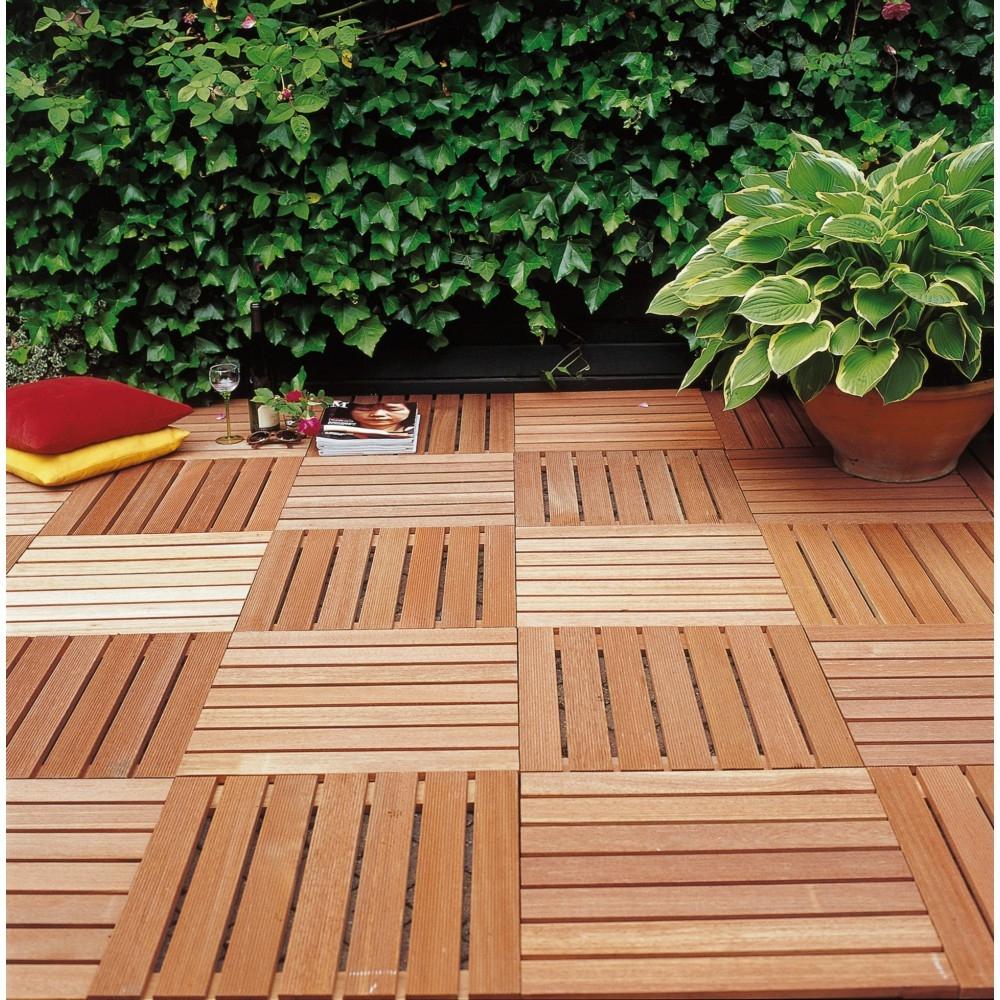 dalle terrasse bois 50x50 brico dépôt  idees conception