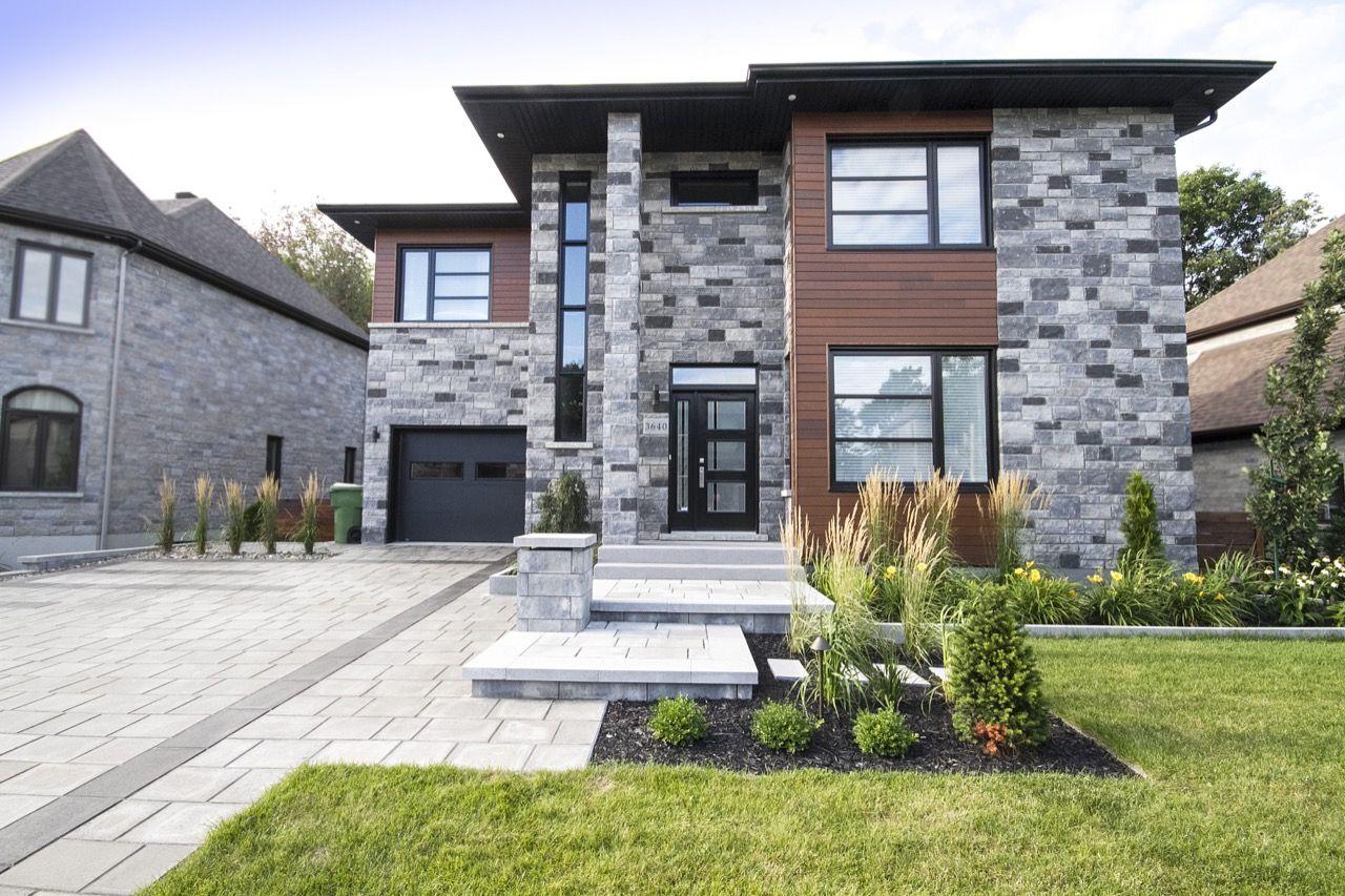 Les Mains Vertes Du Paysage - Entrepreneur En Aménagement ... intérieur Aménagement Paysager Devant Maison Moderne
