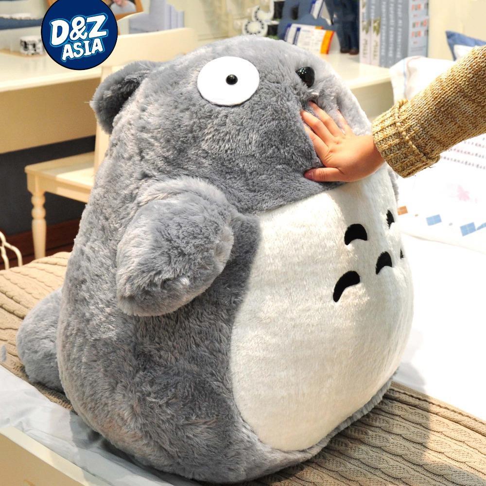 Livraison Gratuite Totoro Chinchilla Totoro Géant En Peluche ... serapportantà Coussin Totoro Geant