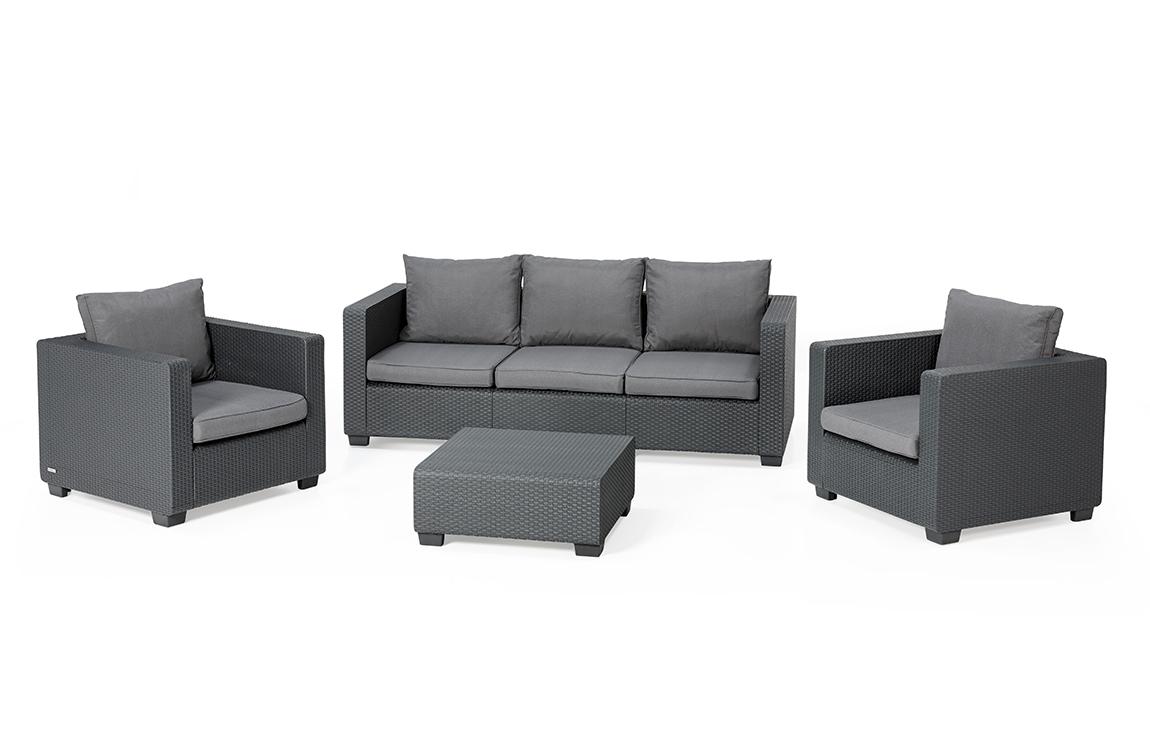 Loungeset | Lounge Sets - Allibert avec Salon De Jardin Allibert Salta