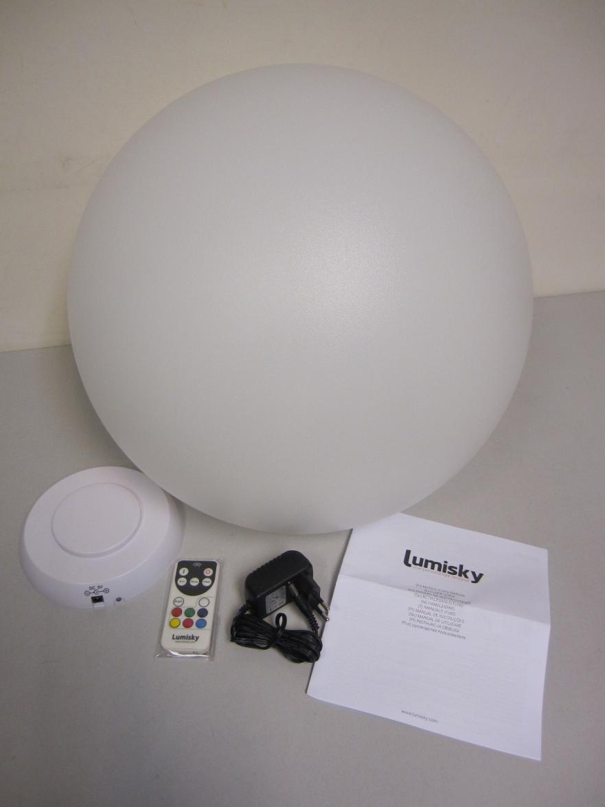 Lumisky - Bobby C40 - Boule Lumineuse Colorée | Fin Shop Belgium à Lumisky Bobby C40