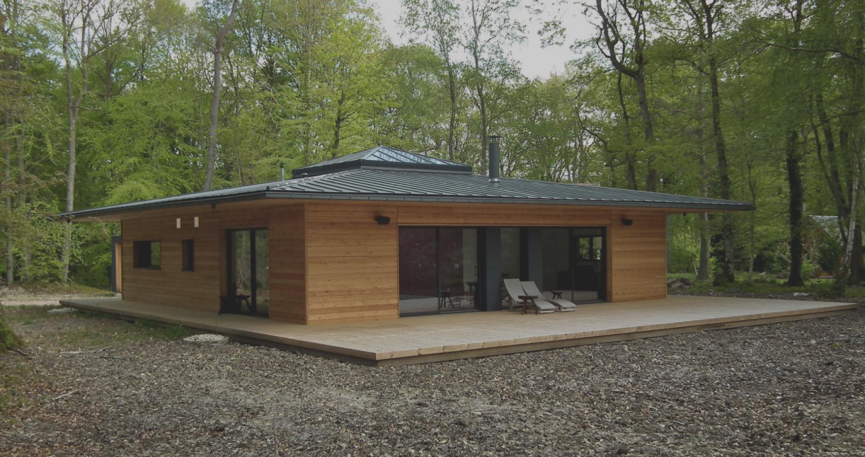 Maison En Bois En Kit 70M2 - Le Meilleur Des Maisons Bois En ... pour Cabane Habitable En Kit