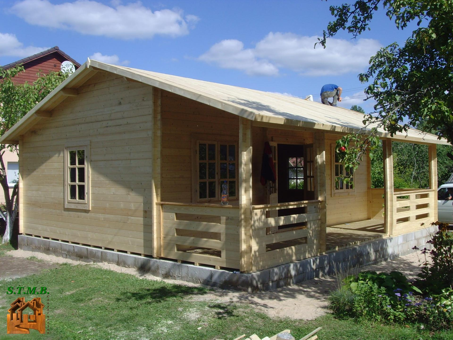 Maison En Bois En Kit Habitable - Le Meilleur Des Maisons ... dedans Cabane Habitable En Kit
