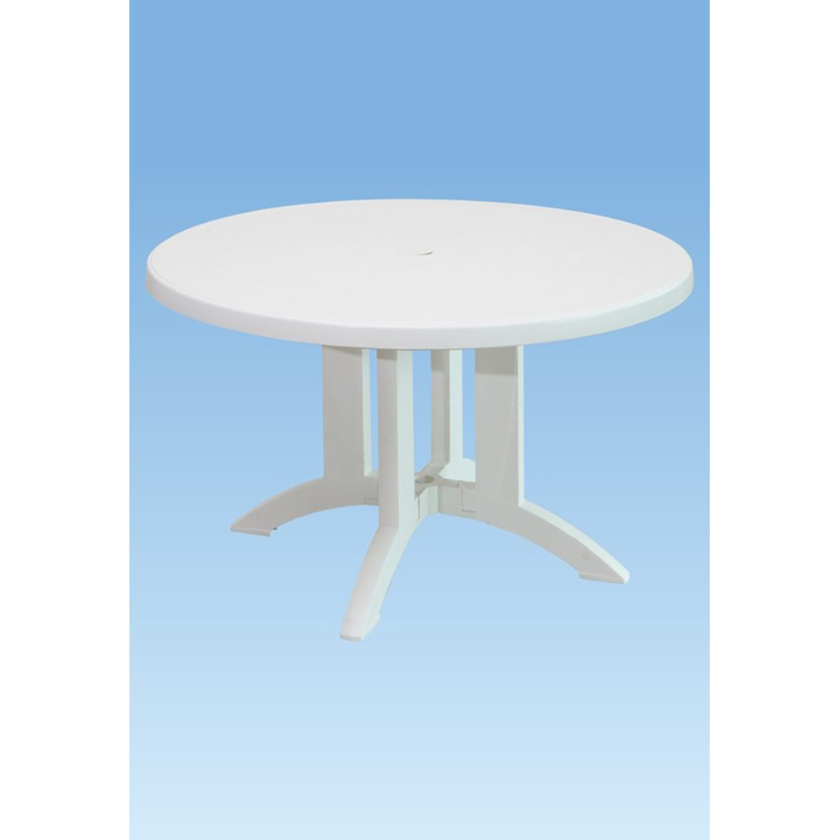 Mesa Vega 118Cm Grosfillex Branco | Carrefour tout Table Vega Grosfillex Carrefour