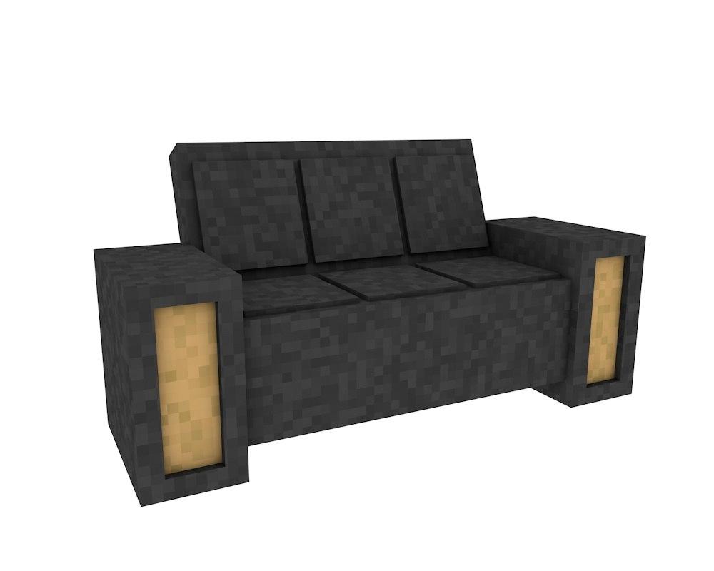Modèle De Canapé Minecraft avec Canape Minecraft