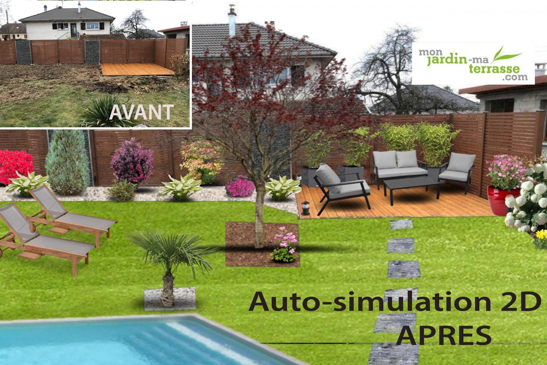 Mon Jardin Ma Terrasse serapportantà Logiciel Plan Jardin Gratuit