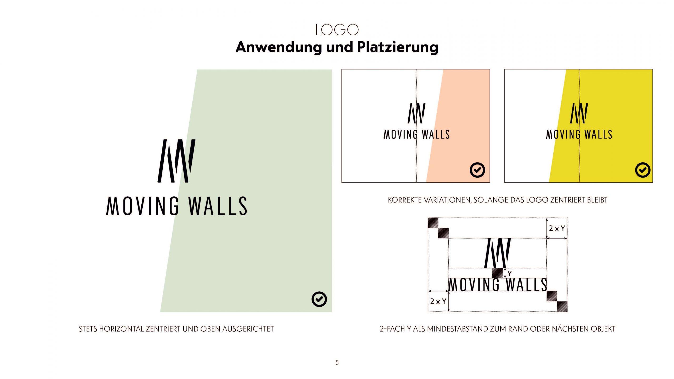 Moving Walls Corporate Design — Bureau Lars Holzmann destiné Bureau Moving 2
