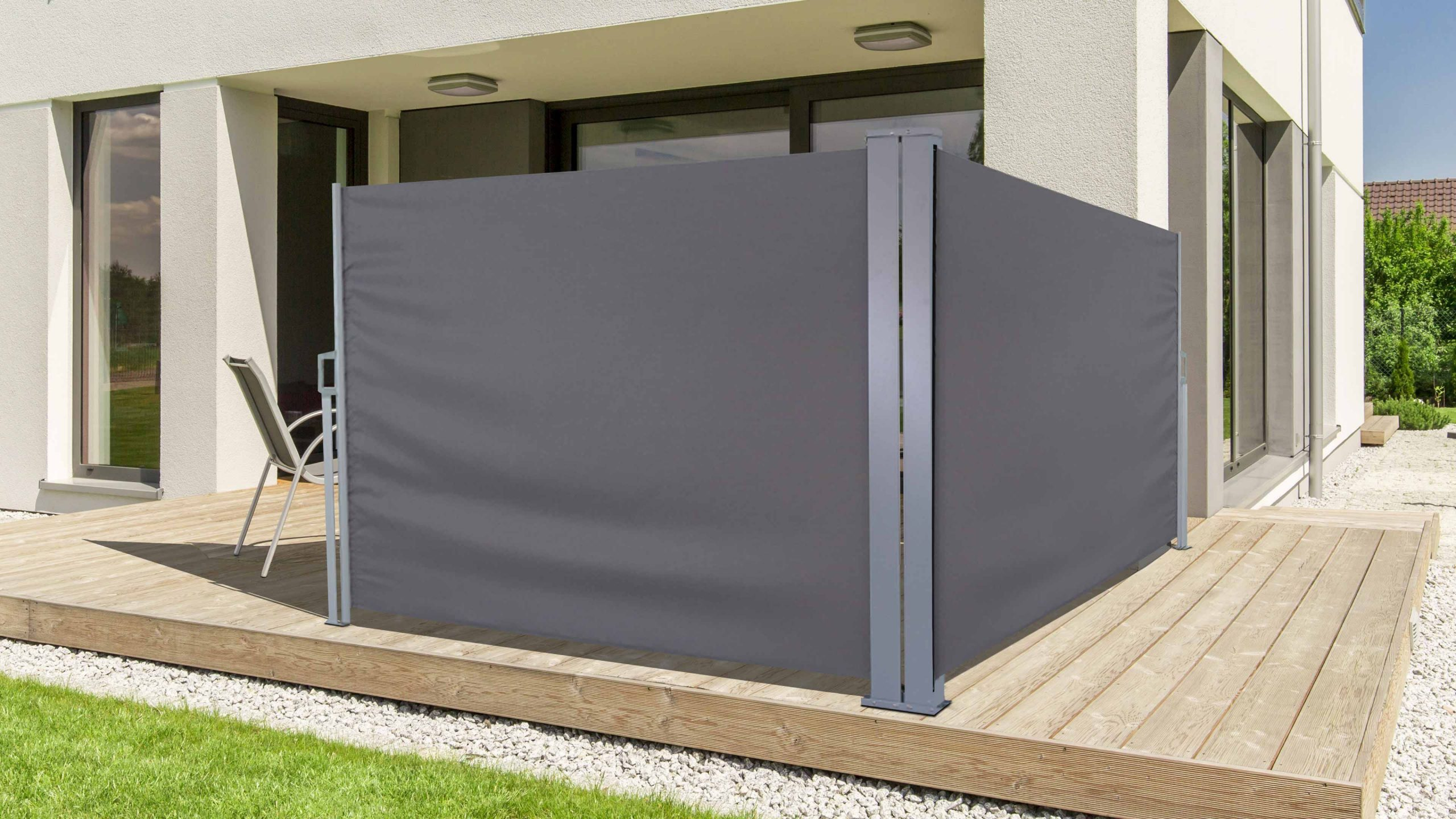 New Brise Vue Enroulable 4M | Home, House, Retractable Awning avec Paravent Rétractable Leroy Merlin