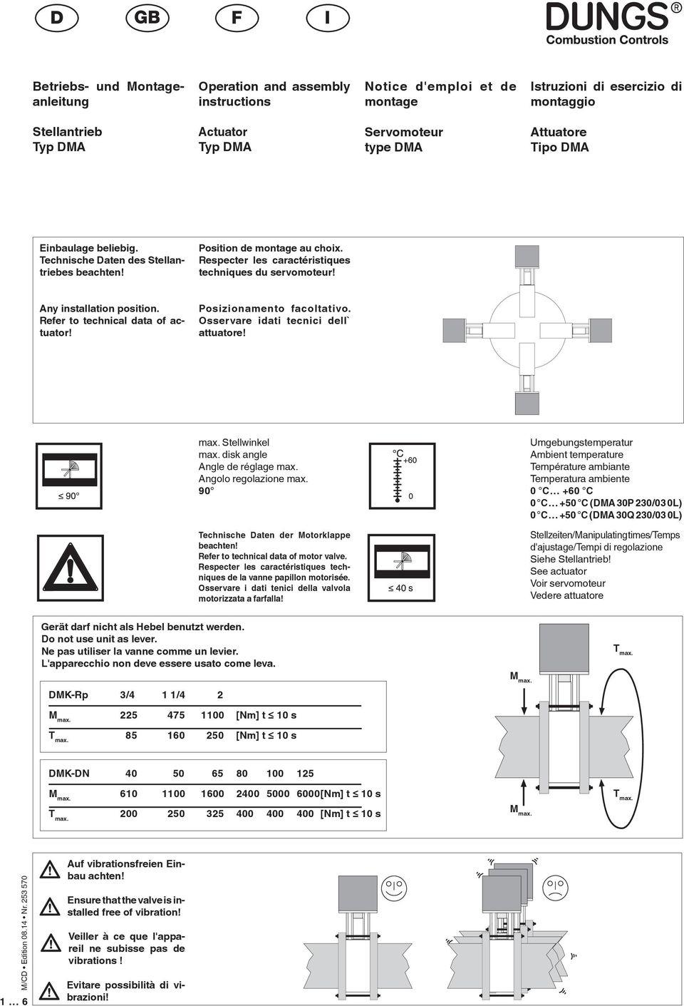 Notice D'emploi Et De Montage. Operation And Assembly ... pour Notice Montage
