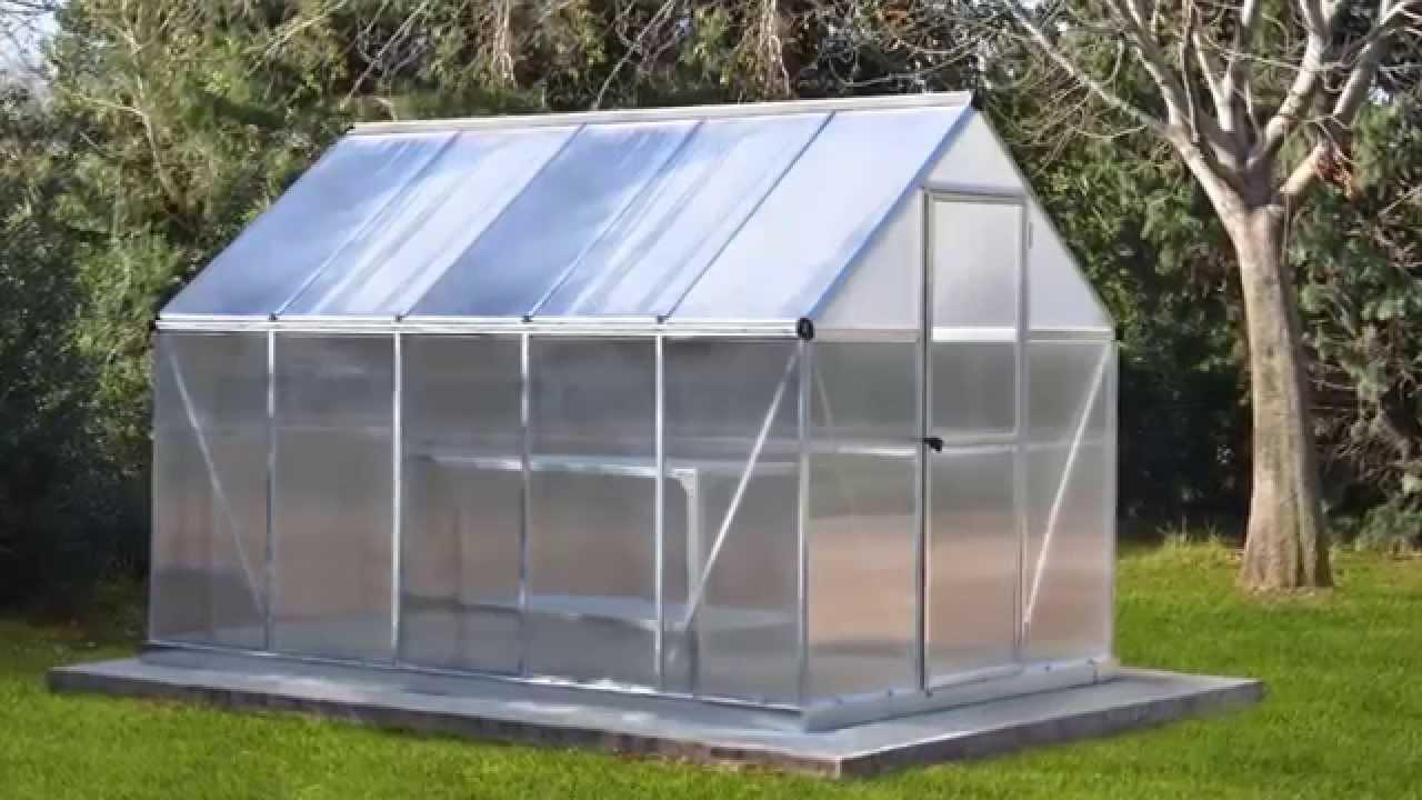 Oogarden - Serre De Jardin Silver 4,6² Palram encequiconcerne Serre Polycarbonate Oogarden