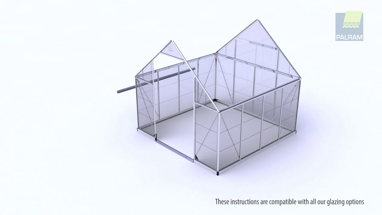 Oogarden - Vidéo D'assemblage Serre De Jardin Polycarbonate Grand Luxe  Palram tout Serre Polycarbonate Oogarden