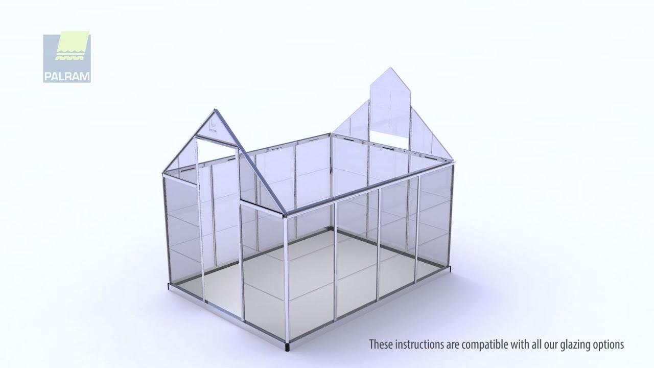 Oogarden - Vidéo D'assemblage Serre De Jardin Polycarbonate Palram à Serre Polycarbonate Oogarden