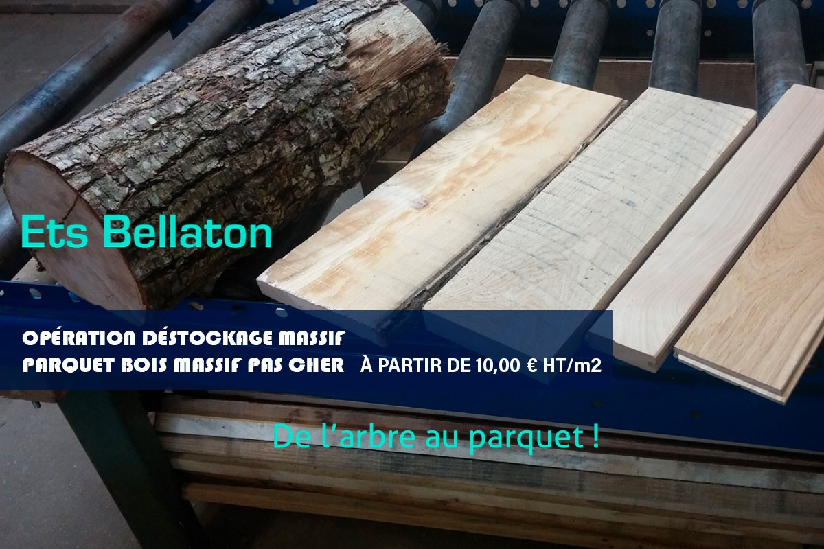 Opération Déstockage Parquet Chêne Massif | Parqueterie ... concernant Destockage Parquet Massif